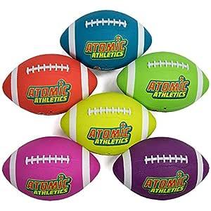 Atomic Atletismo 6 unidades de neón de goma parque balones ...
