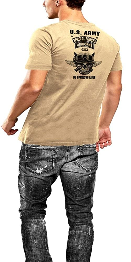 Army Special Forces T-Shirt Black Ops Viper Tan Tee By Warface Apparel