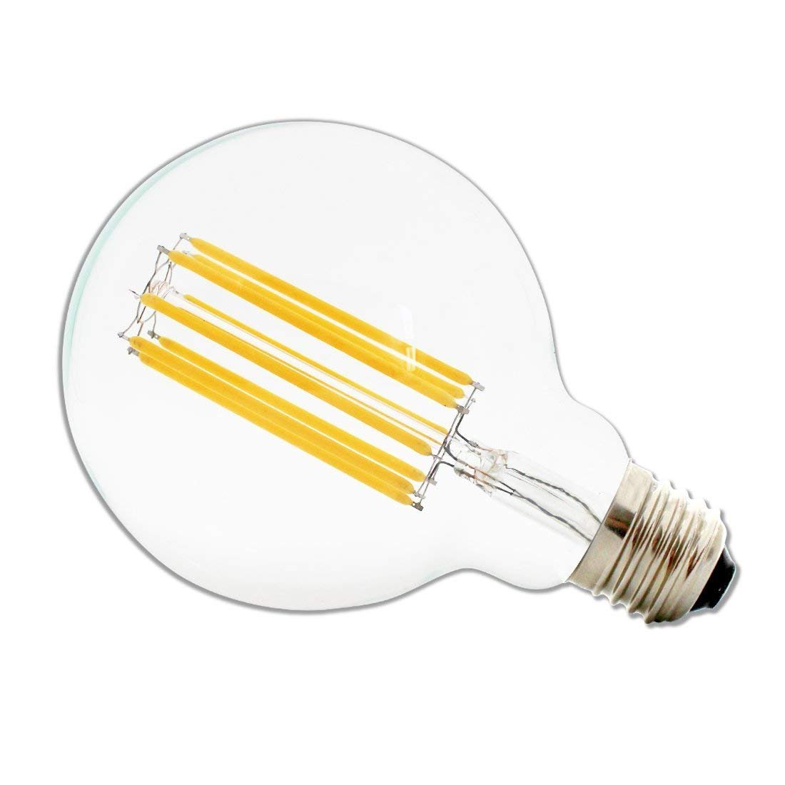 60Watts Equivalent 110-120VAC Dimmable E26 Base Warm White 2700K Culver Led Vintage Edison Bulb G30//G95 6W LED Light Filament Bulb Large Globe Bulb 6W -2 Pack Culver LED Lighting Solution Corp