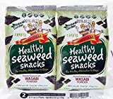 Natural Garden Healthy Seaweed Snacks with Wasabi 0.17oz (Pack of 36)