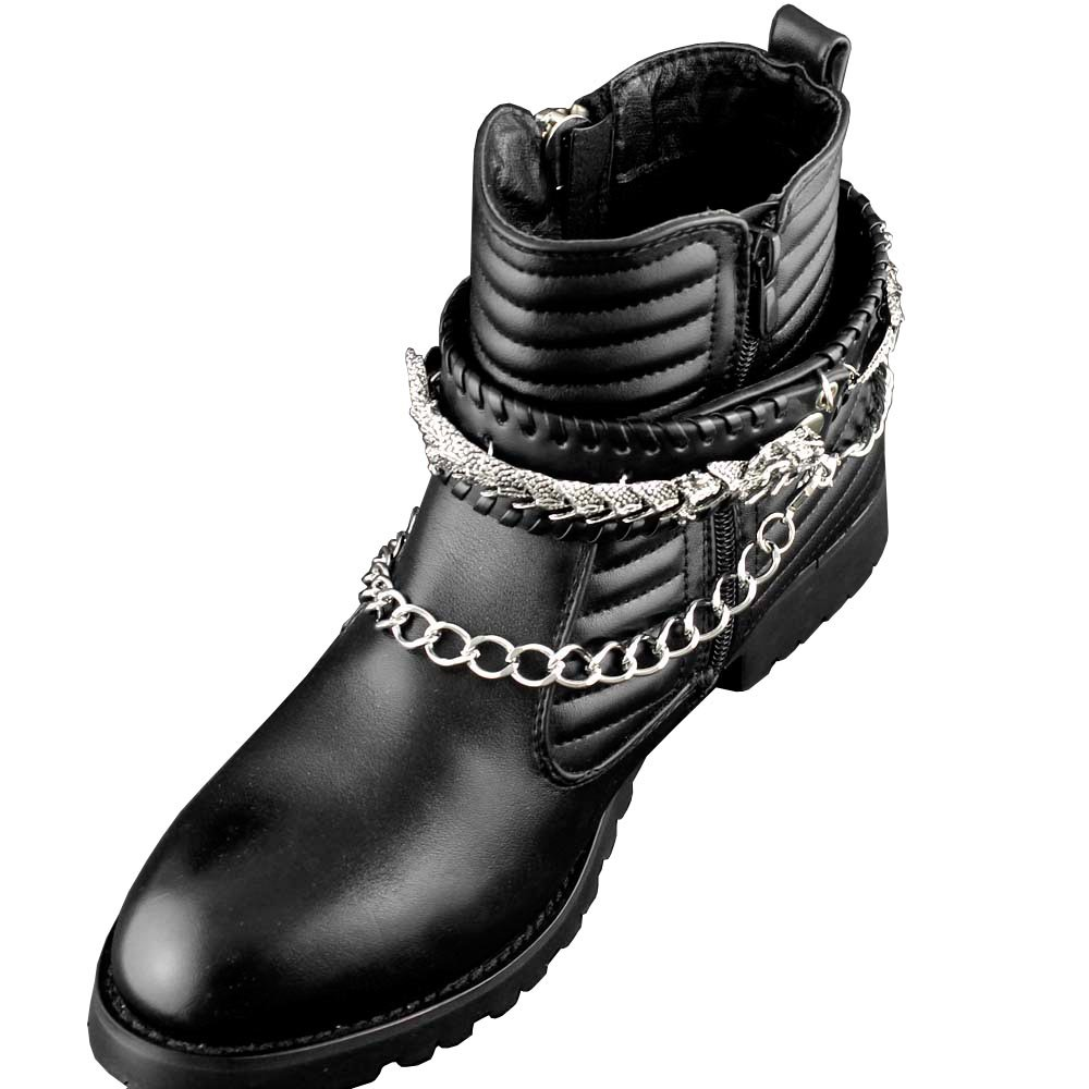 New Mens Biker Boot Bracelet Chain Dragon Rock Singer Shoe Shoe Chain ys-Newforch BC-01