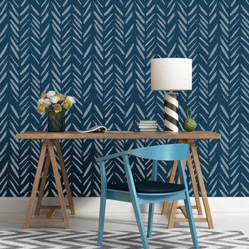 Brush Strokes Wall Stencil - Trendy Stencils for DIY Home Decor - By Cutting Edge Stencils …