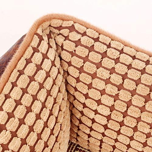 ペットベット 犬小屋取り外し可能と洗えるテディベアゴールデンレトリーバーペットの巣サモエド大型犬のベッド犬犬用品秋と冬 ベッド・ソファ SHANCL (Color : Xl:110*80*27cm)