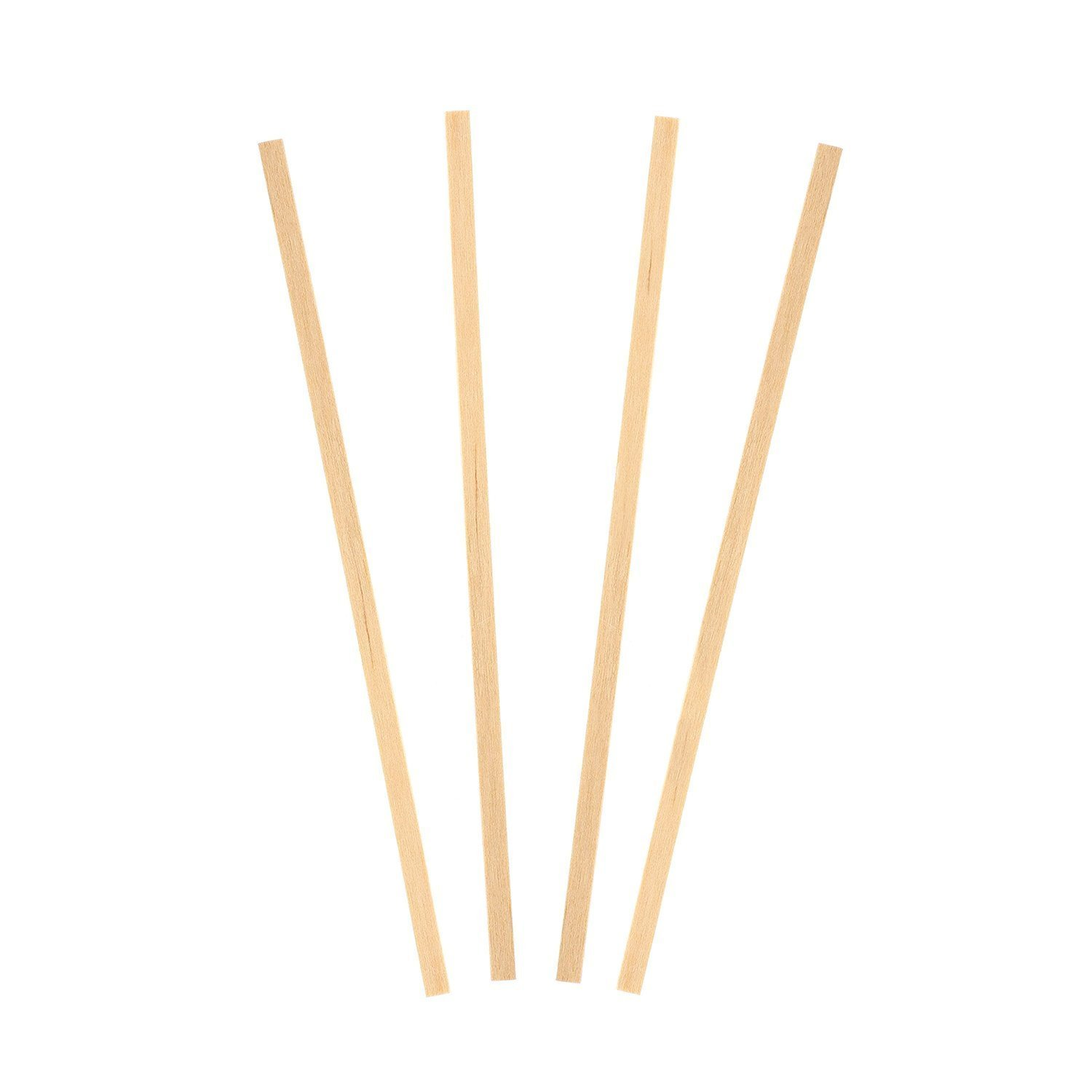 Royal 1000 Count Wood Coffee Beverage Stirrers, 5.5""