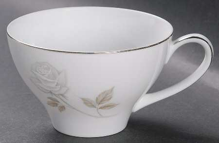 Flat Cup in Rosay by Noritake at Replacements, Ltd
