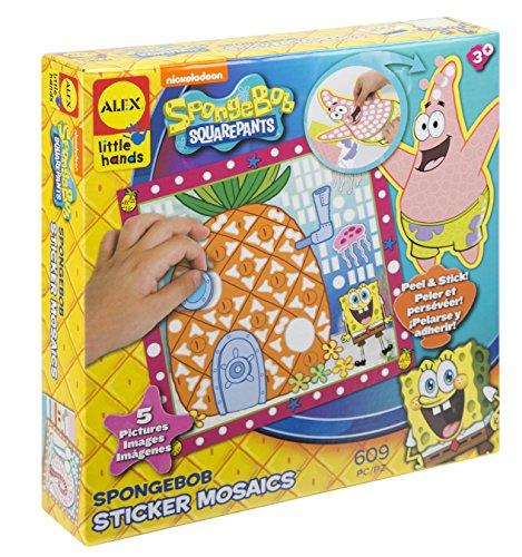 (SpongeBob Sticker Mosaics)