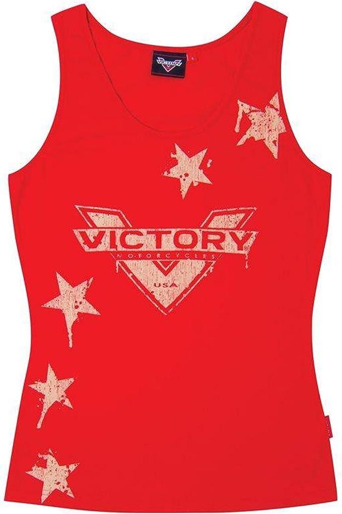 Victory Motorcycle New OEM Women/'s Black 3//4 Sleeve Shirt Large 286518806