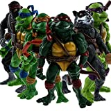 6Pcs/Lot Turtles Action Figure Classic Collection XMAS Toys