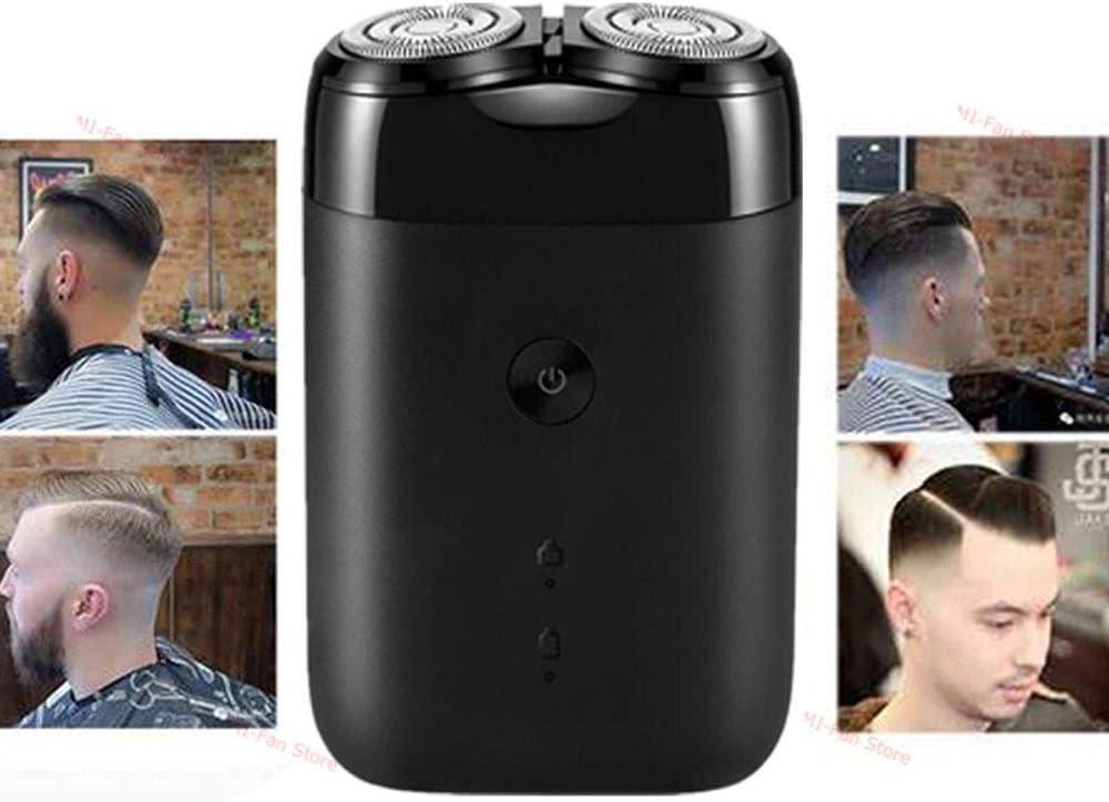 GCSEY Acero Recargable Más Nueva Máquina De Afeitar Eléctrica 2020 2 Cabeza Flotante Impermeable Portable del USB Navaja De Afeitar para Hombres