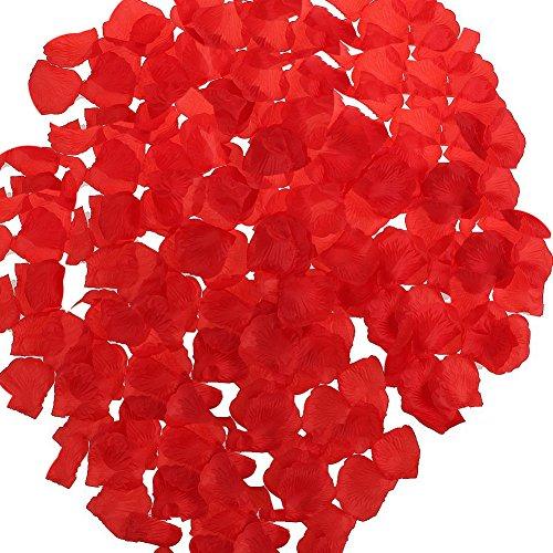 Zcargel Hot Sale 1000pcs Silk Rose Petals Wedding Party Deco