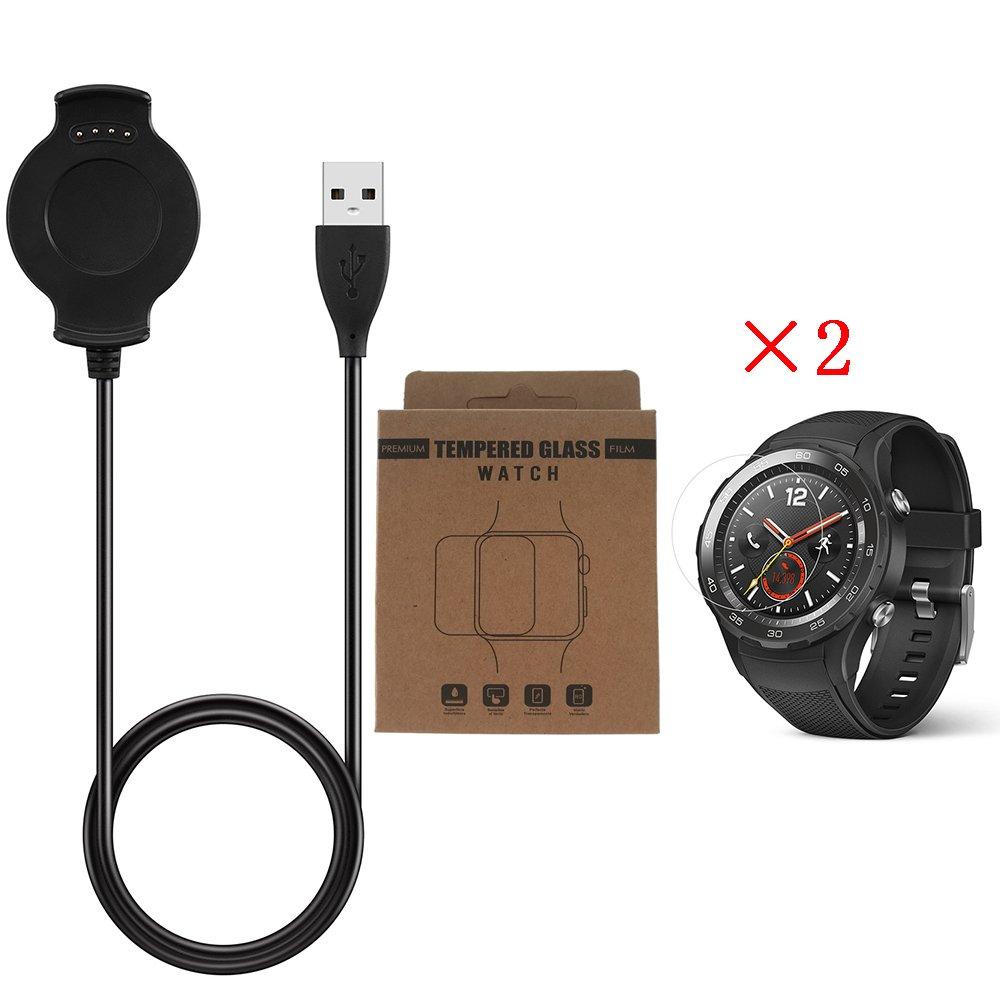 Huawei Watch 2 Cargador con Protector de Pantalla de Vidrio ...