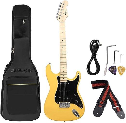 Guitarra 38 Pulgadas Y La Guitarra Eléctrica Cuerda De Guitarra ...