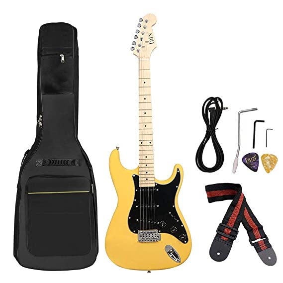 Zxllyntop Guitarra acustica 38 Pulgadas de 6 Cuerdas de Guitarra ...