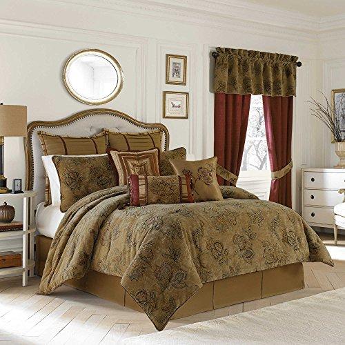 Croscill Milana 4 Piece Queen Comforter Set, Multi color - Croscill Standard Comforter