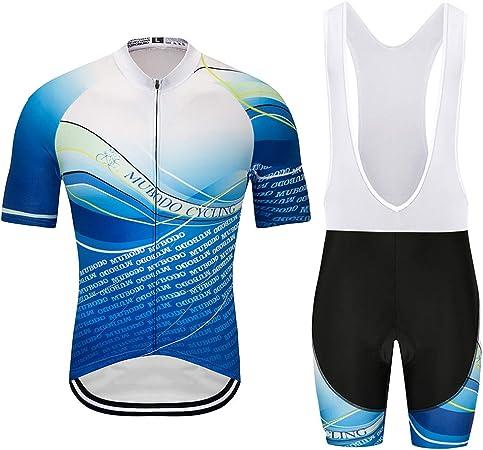 YSYFZ Maillot de Sport pour Hommes de Plein Air Costume Cyclisme Maillot de Sport /à Manches Courtes Jersey Short Respirant et s/échage Rapide Printemps///ét/é//Automne