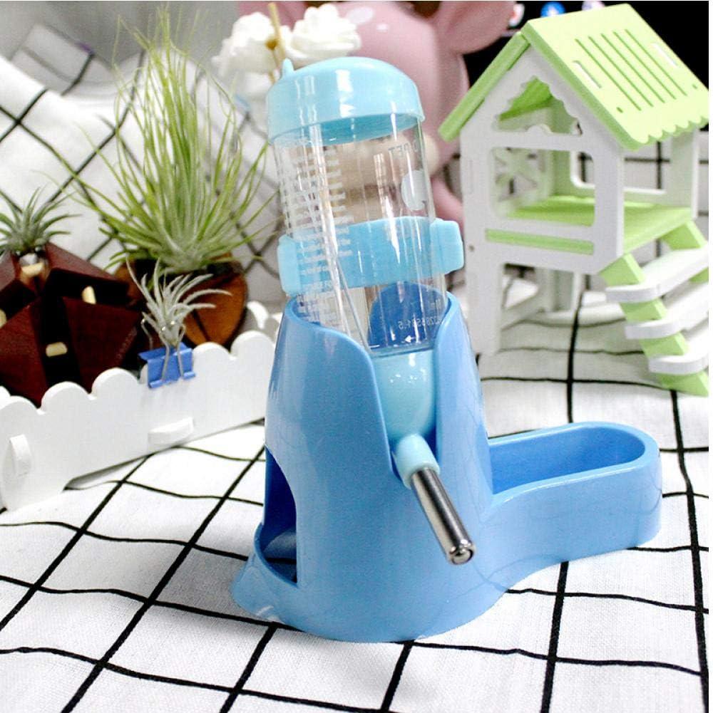 TOSSPER Poco de Agua para Mascotas cubeta de alimentación de Botellas Mascotas alimento para hámster Accesorios de alimentación Color al Azar