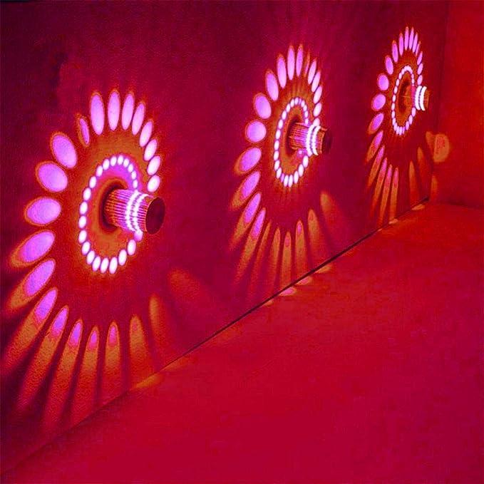 Amazon.com: OYTRO - Lámpara de pared LED de 3 W con espiral ...