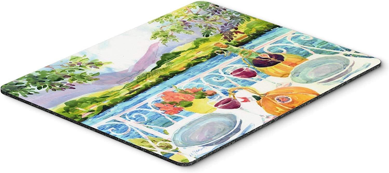 Caroline's Treasures 6139MP Afternoon of Grape Delights Wine Mouse Pad, Hot Pad or Trivet, Large, Multicolor [並行輸入品]