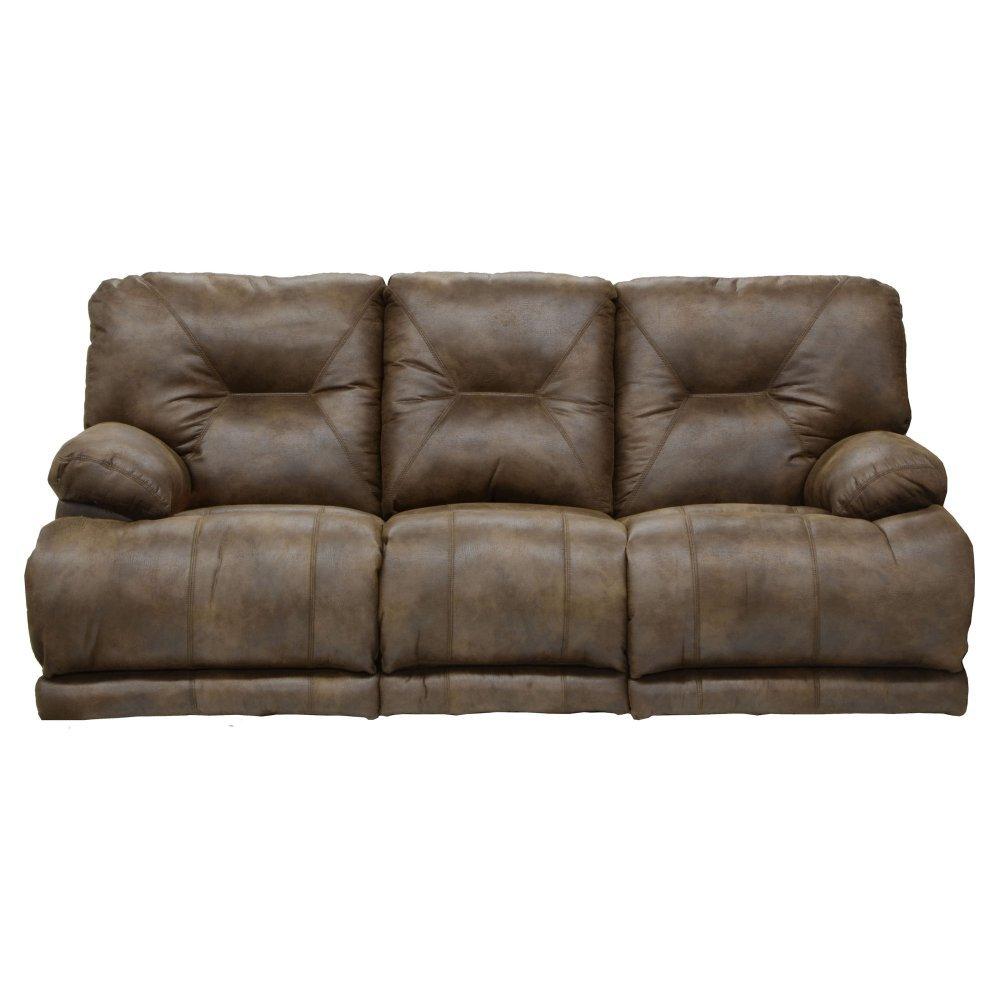 Amazon Com Catnapper Voyager Lay Flat Reclining Sofa In Elk