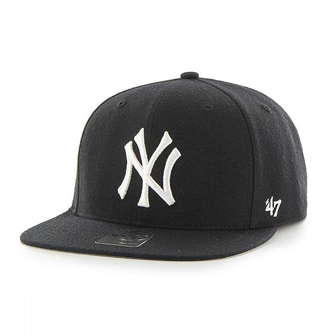 Gorra 47 Brand - Mlb New York Yankees Captain Snapback negro talla: Cadetes: Amazon.es: Ropa y accesorios