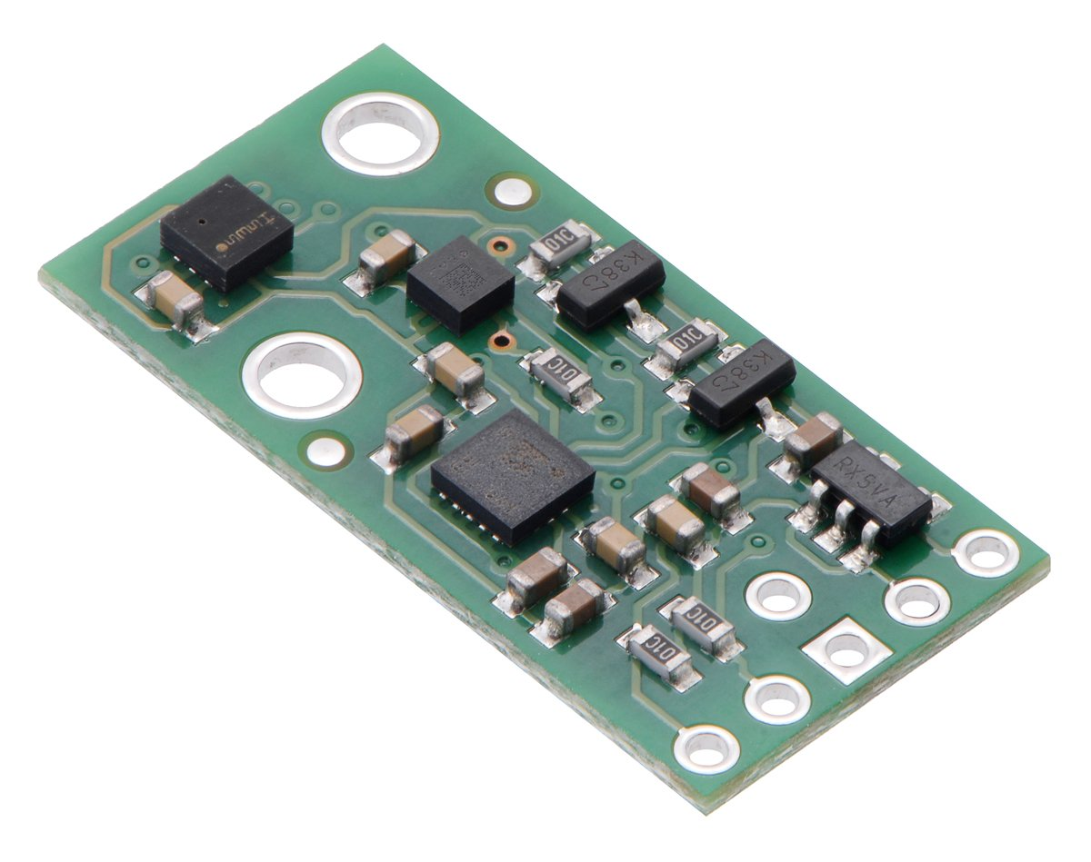 AltIMU-10 v5 Gyro, Accelerometer, Compass, and Altimeter (LSM6DS33, LIS3MDL, and LPS25H Carrier) by Pololu