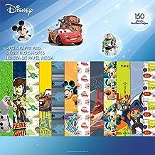 Sandylion SC9606 Disney Boy 2 Mega Paper Pad 150 Pages