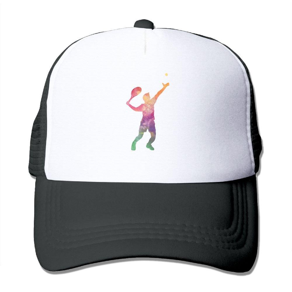 ZZATAA Mesh Hat Baseball Caps Grid Hat Baseball Adjustable Trucker Cap