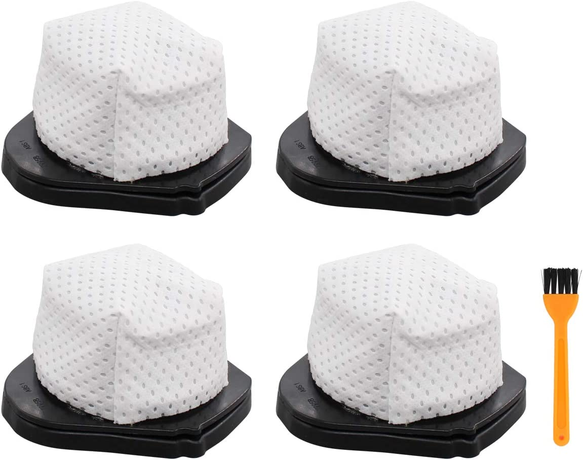 ApplianPar Washable Vacuum Dust Cup Filter for Shark SV75 SV70 SV726 Hand Vacs SV736 SV738 SV748 SV760 XSB726N Pack of 4
