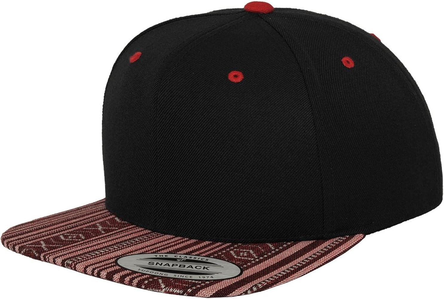 Flexfit Mütze Aztec Snapback - Gorra de náutica, Color Negro/Rojo ...