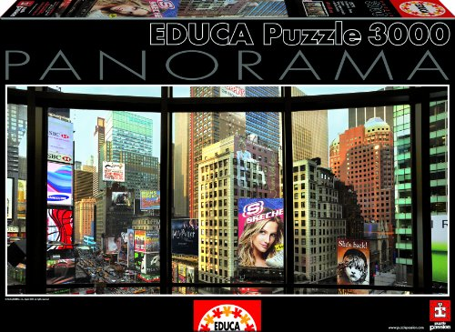 Times Square From My Window 3000-Piece Panorama Puzzle