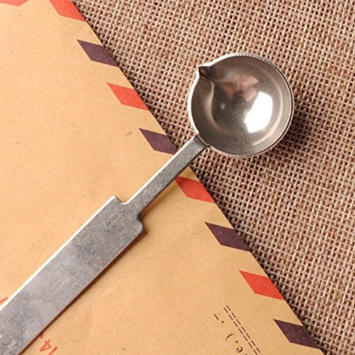MTSZZF Stainless Steel Sealing Wax Melting Spoon