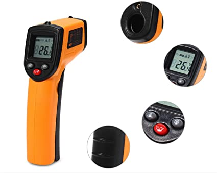 Rosyxandy gm320 laser lcd digital ir infrarot thermometer