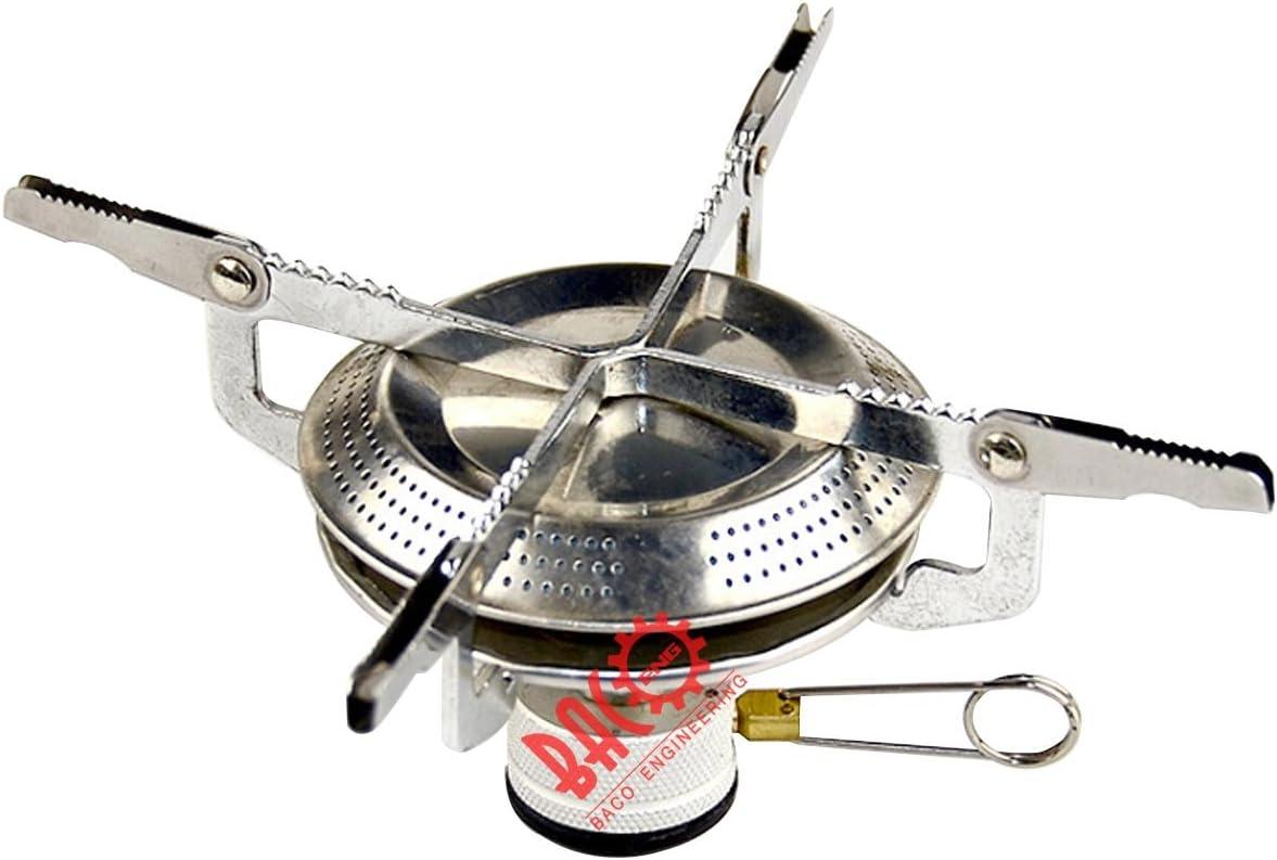 BACOENG Picnic Camping butano Cocina de gas barbacoa ...