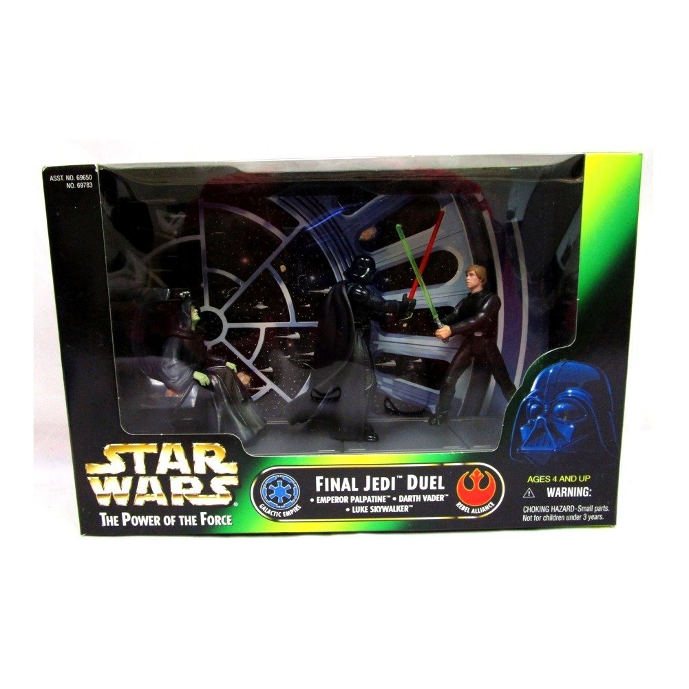 Star Wars Final Jedi Duel Cinema Scene Star Wars Action Figure 3-Pack