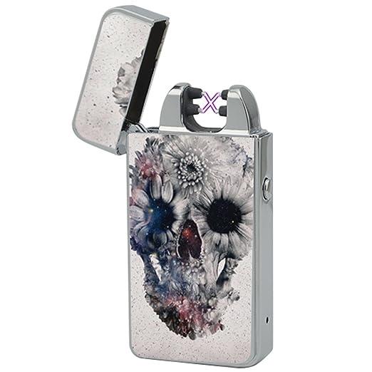 108 opinioni per Accendino Elettrico -The Flame X- USB Ricaricabile a Doppio Arco Ricarica