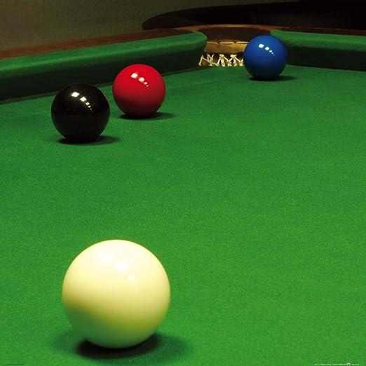 1art1 Billar - Snooker, Situación Libre De La Bola Póster ...