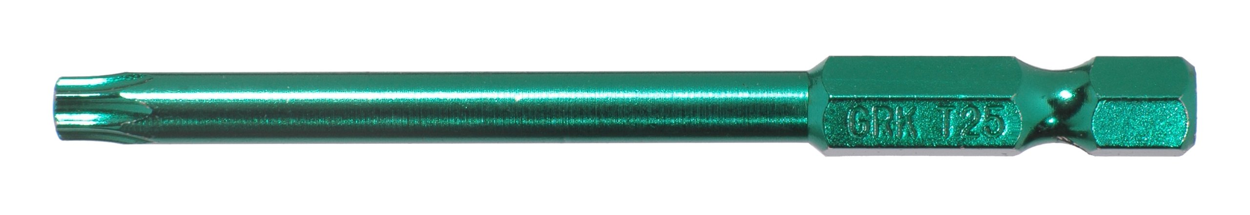 GRK 772691864451 T25-3-Inch Bits in Green Containing Equal to 25 Bits, 1-Pack