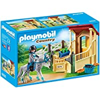 PLAYMOBIL® Horse Stable with Appaloosa Building Set