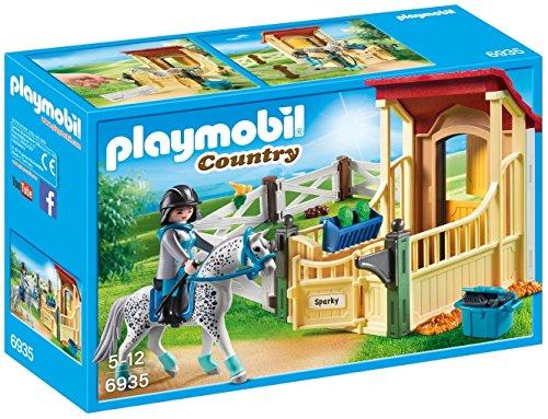 PLAYMOBIL® Horse Stable Appaloosa Building Set