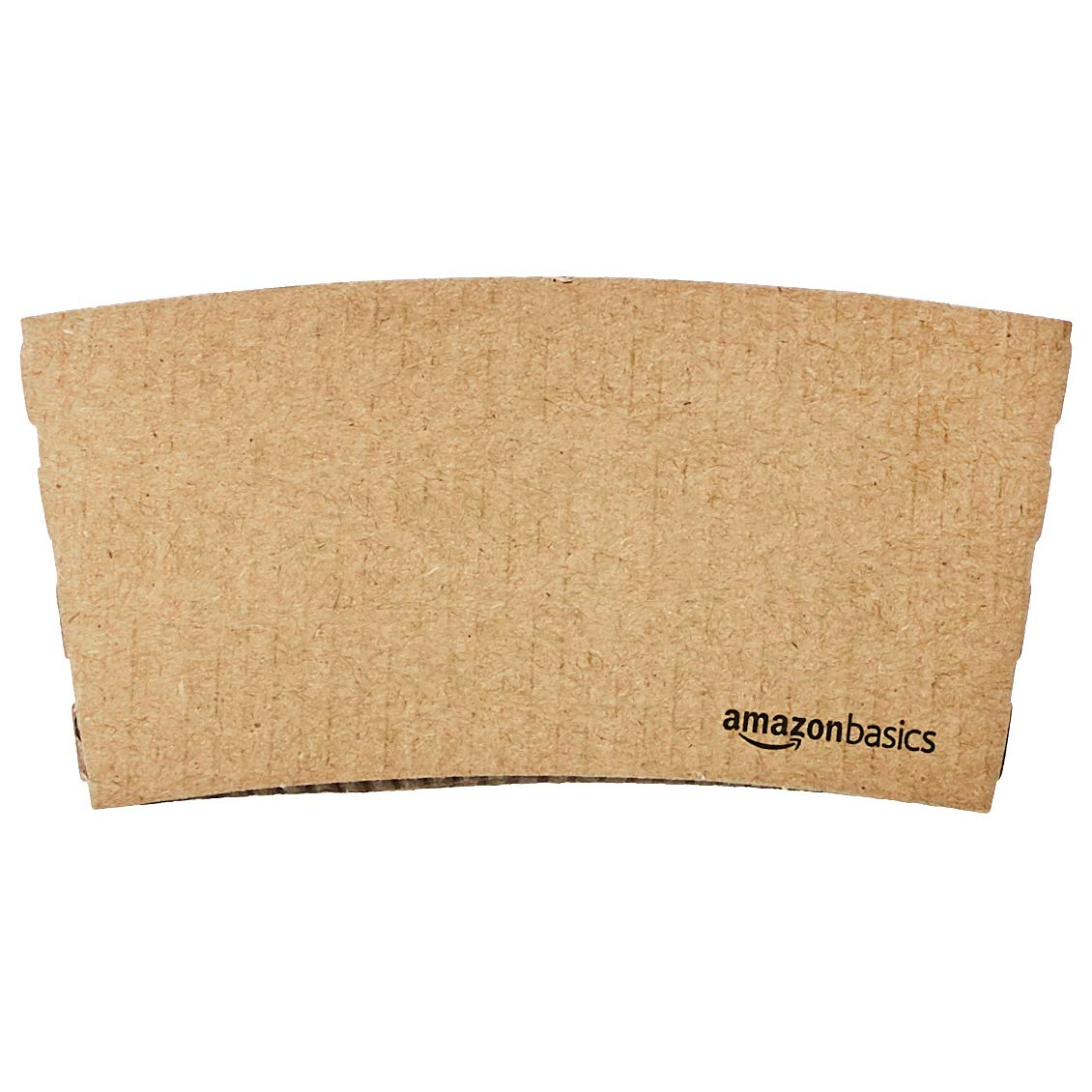 AmazonBasics Kraft Cup Sleeve for 10 and 12oz Paper Cup, 500-Count