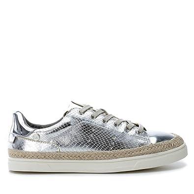XTI 41284 Damen Schuhe Metallisch tvQhv6