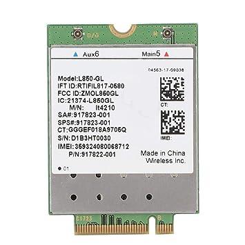 Tarjeta de Red inalámbrica, L850-GL Módulo 4G Tarjeta WiFi ...