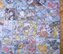 <Qキャラクター・キルティング生地>ディズニープリンセス (薄ブルー)#54の商品画像