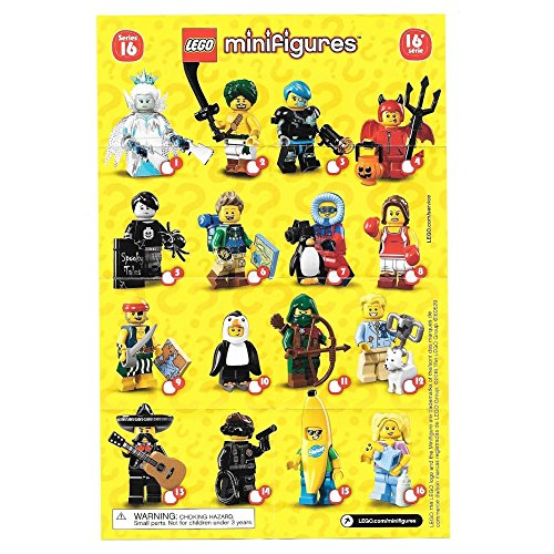 Lego Series 16 Minifigures Blind Bag Styles Vary Sold