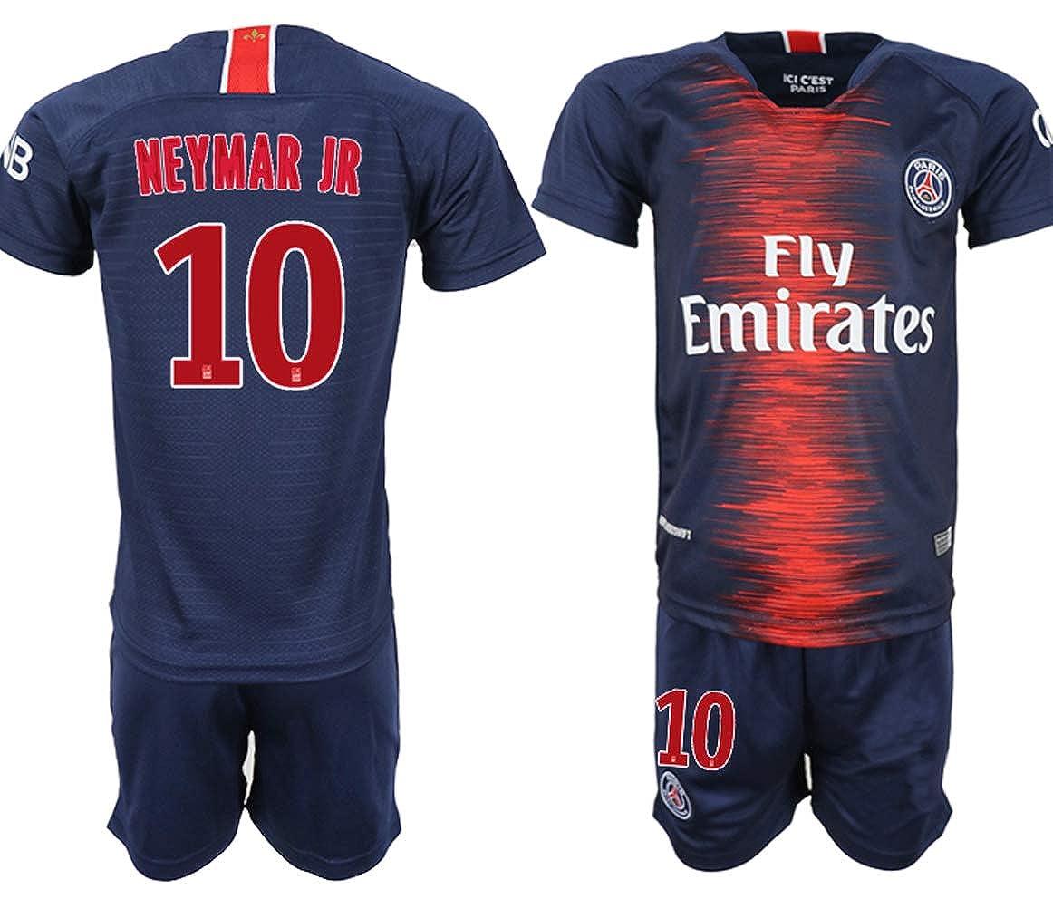 2018/19 New PSG Neymar Kid's Soccer Jersey