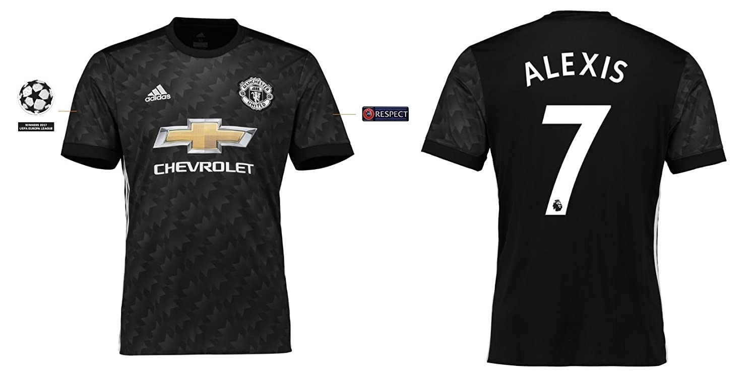 Trikot Kinder Manchester United 2017-2018 Away UCL - Alexis 7
