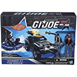 Hasbro GI Joe Danger at the Docks Set with Flint, Cobra Eel, Cobra Night Raft and the Vamp Mark II