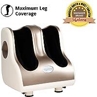Lifelong LLM909 Max Foot Leg and Calf Massager (Brown)