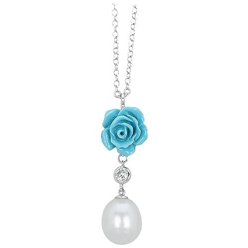ultima vendita dal costo ragionevole di modo attraente Collana con ciondolo a forma di fiore Mabina Gioielli ...
