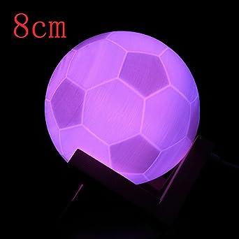 Gaddrt Lamp 3d Usb Led Magische Fussball Nachttisch Tisch